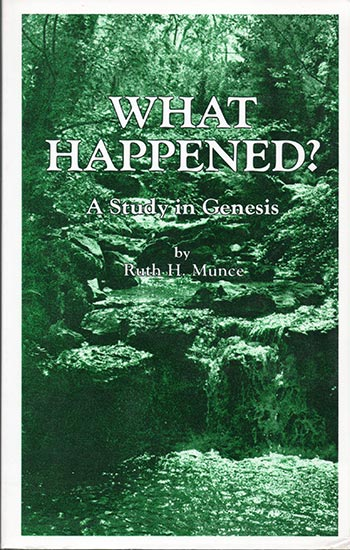 What Happened? A Study in Genesis