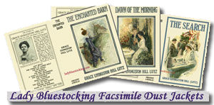 Ladybluestocking fascimile dust jackets